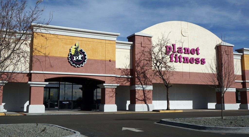 A new Planet Fitness franchise opened in West Colfax.Photo by Burl Rolett.
