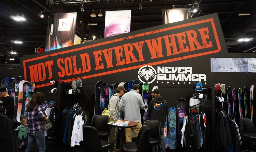 Never Summer, based in Denver and also does manufacturing for other Colorado-based ski companies, like Icelantic.