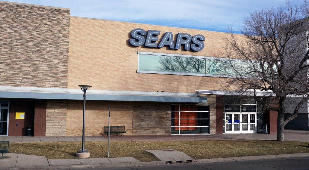 The Cherry Creek Sears is shutting down. Photo by Burl Rolett.