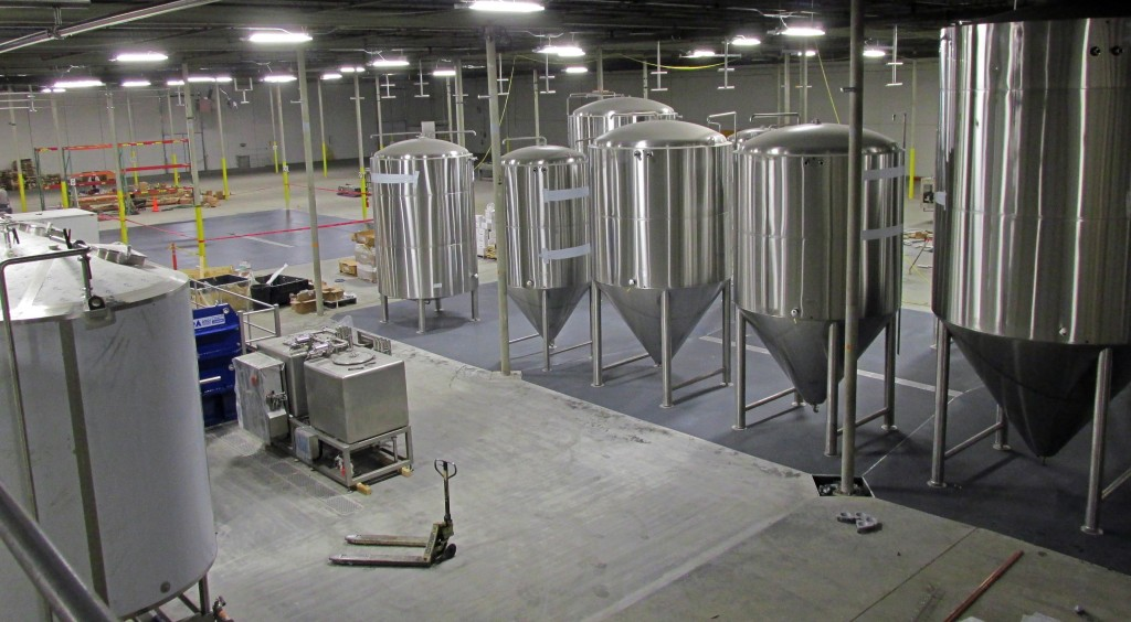 A large facility will brew other companies' recipes.