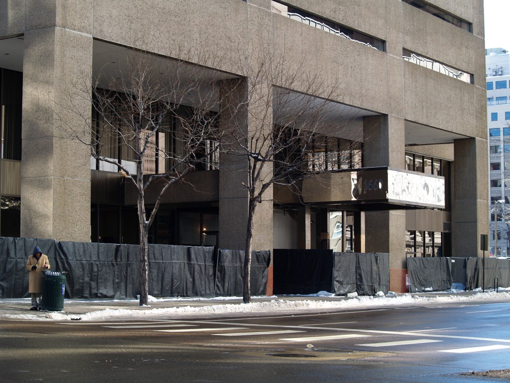The office tower at 1660 Lincoln St. is moving into the last phase of its makeover.