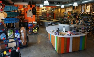 The Austin shop will have a similar look to the Denver location.