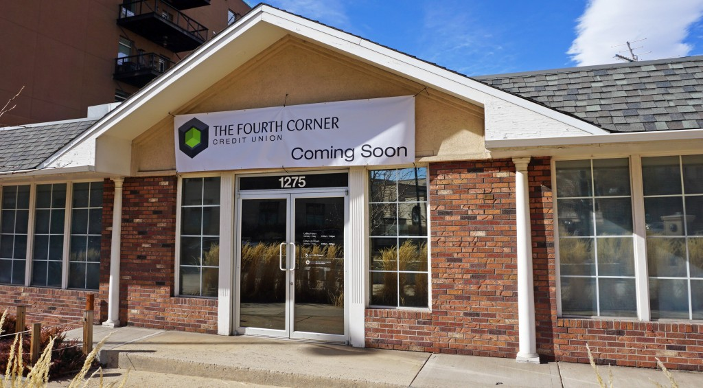 A new credit union will open at 1275 Tremont Place that caters to the marijuana industry. Photo by George Demopoulos.