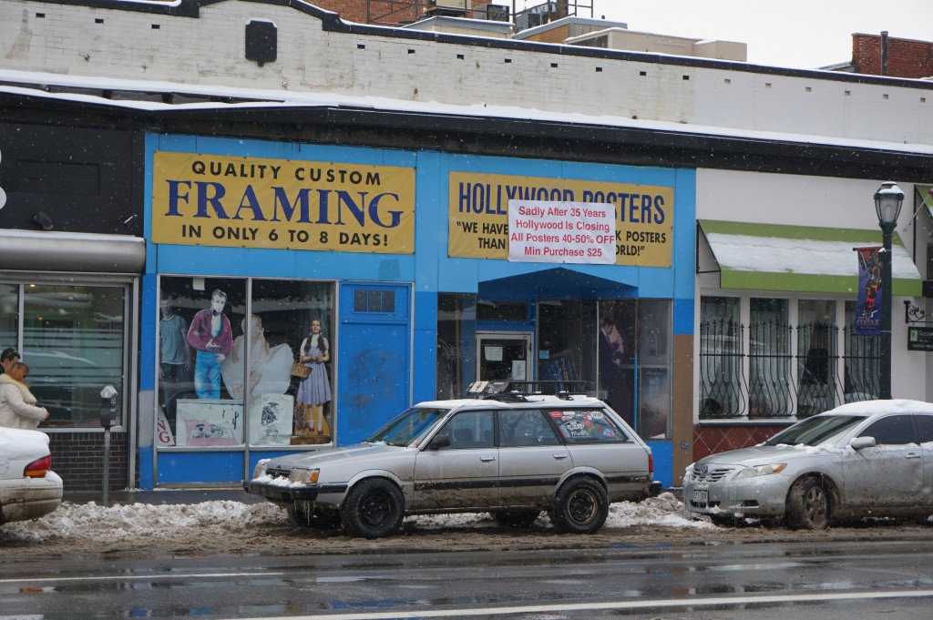 Hollywood Posters, a longtime shop