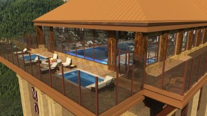 The Monarch hopes to bring in more guests with hotel pools and other high-end amenities.