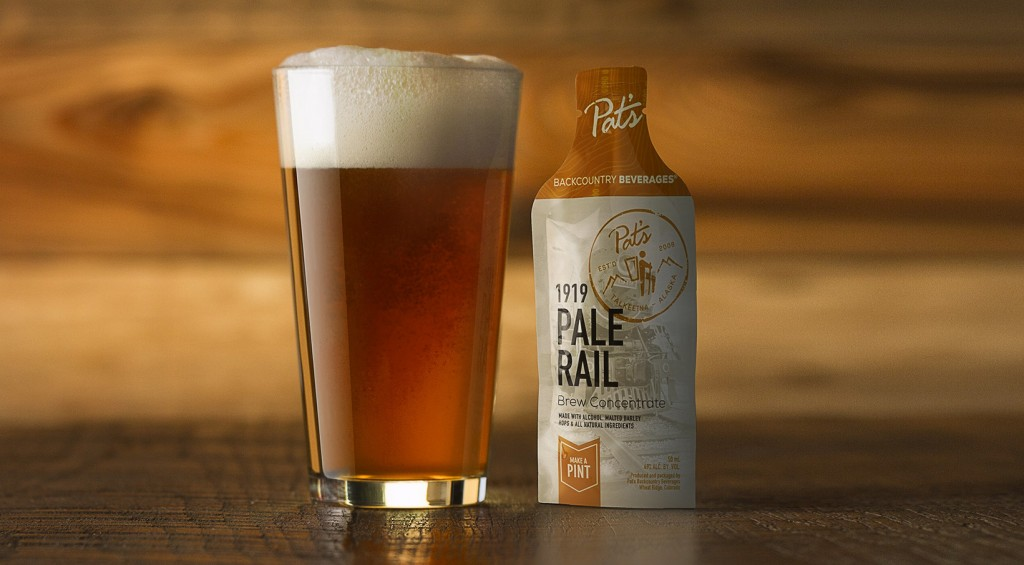 Pat's Backcountry Beverages is expanding its concentrated beer business into bars. Photos courtesy of Pat's.