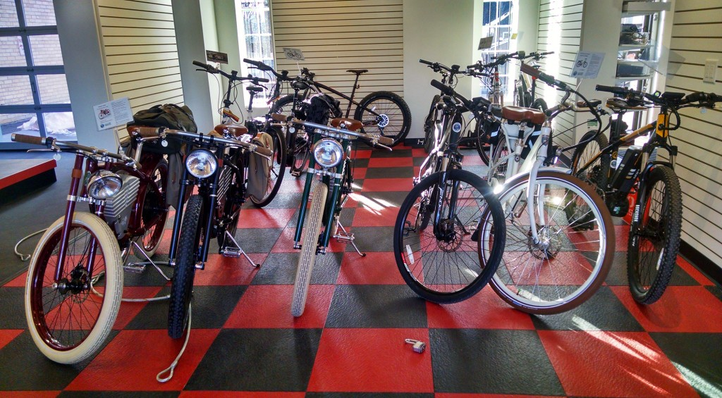 An electric bike retailer is expanding in Denver. Photo courtesy of Small Planet.