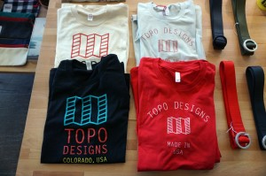 In addition to bags and packs, Topo recently expanded into apparel.