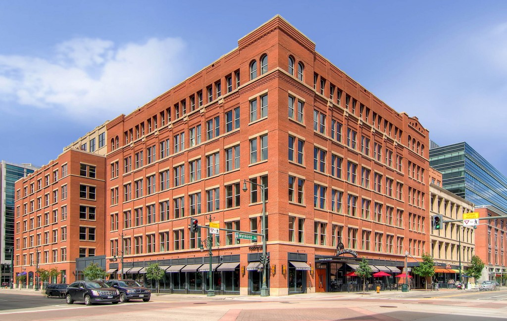 The building at 1515 Wynkoop St. is under new ownership. Photo courtesy of American Realty Advisors.