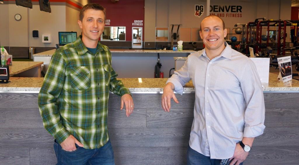 Denver Gym & Fitness Nathan Willis and General Manager Erik Frain