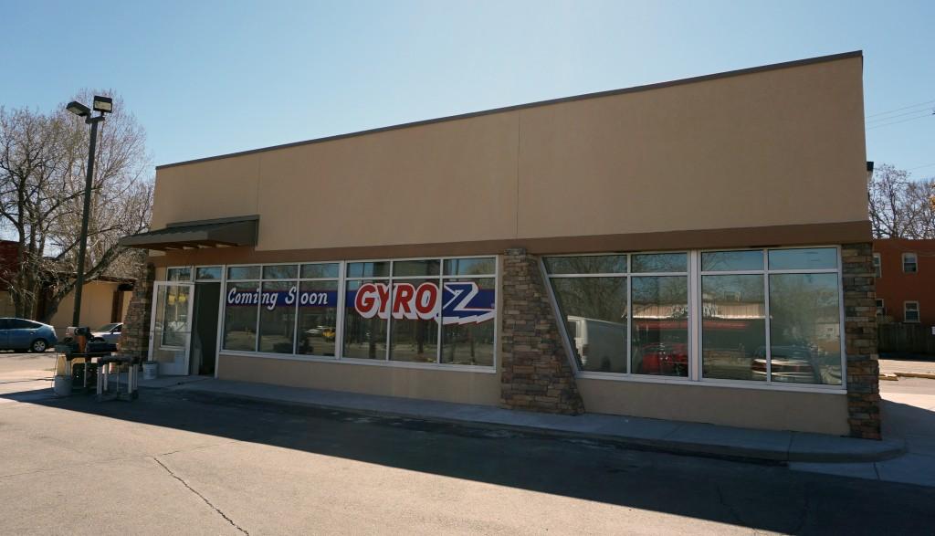 Gyroz will open on Colfax Avenue. Photos by Burl Rolett.