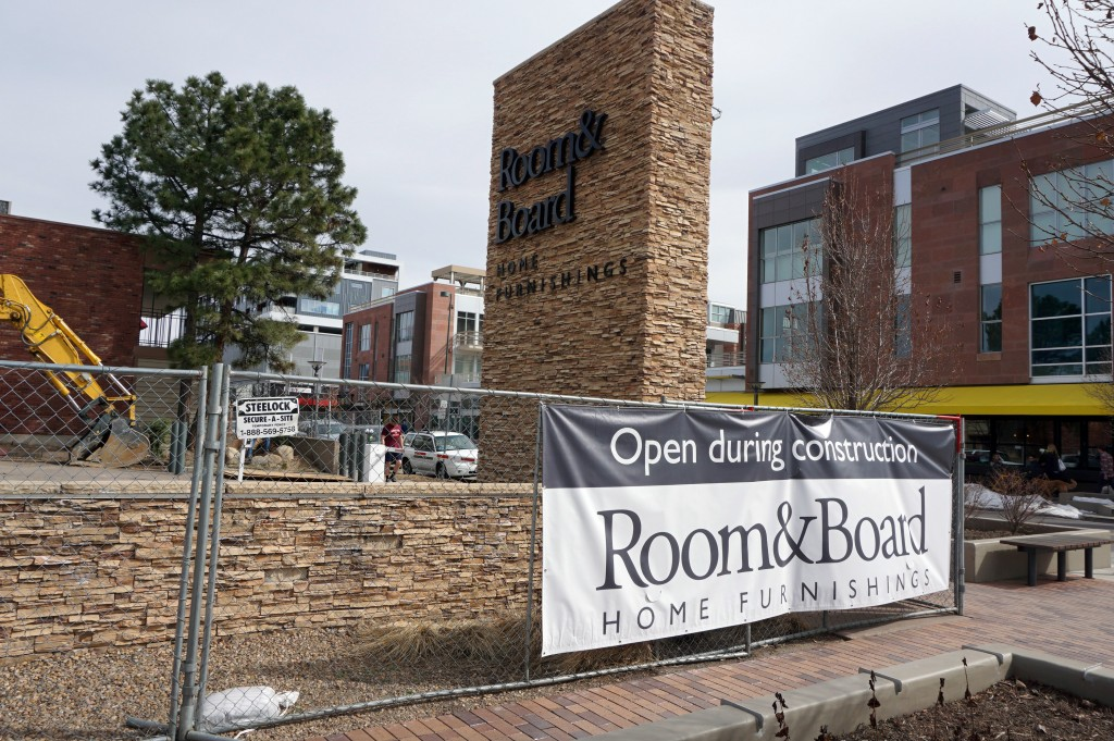 Room & Board in Cherry Creek is expanding its showroom. Photos by Burl Rolett.
