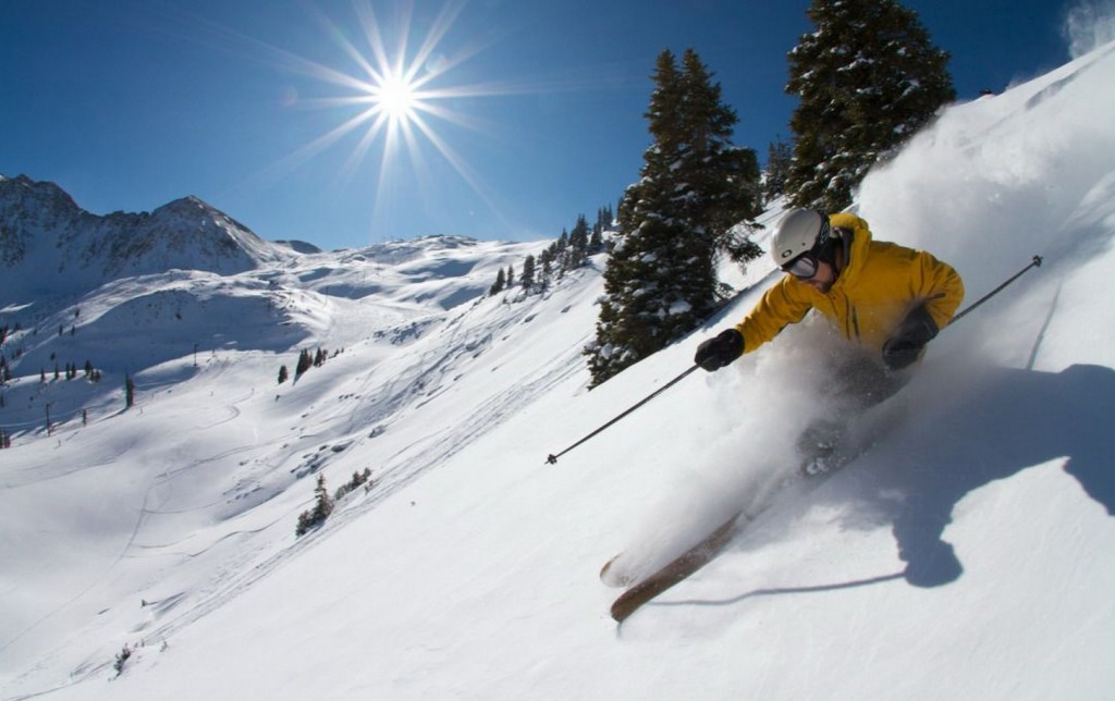 Two major names in skiing have released their season passes. Photo by Casey Day, courtesy of Arapahoe Basin.