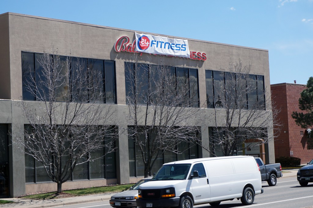 24 Hour Fitness has taken over seven former Bally Fitness locations in Denver. Photo by George Demopoulos.