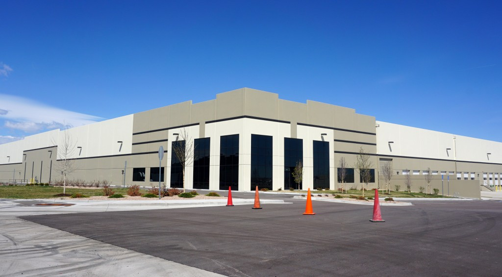 Building 28 at Aurora's Commercenter will soon have a new warehouse neighbor. Photo by Burl Rolett.