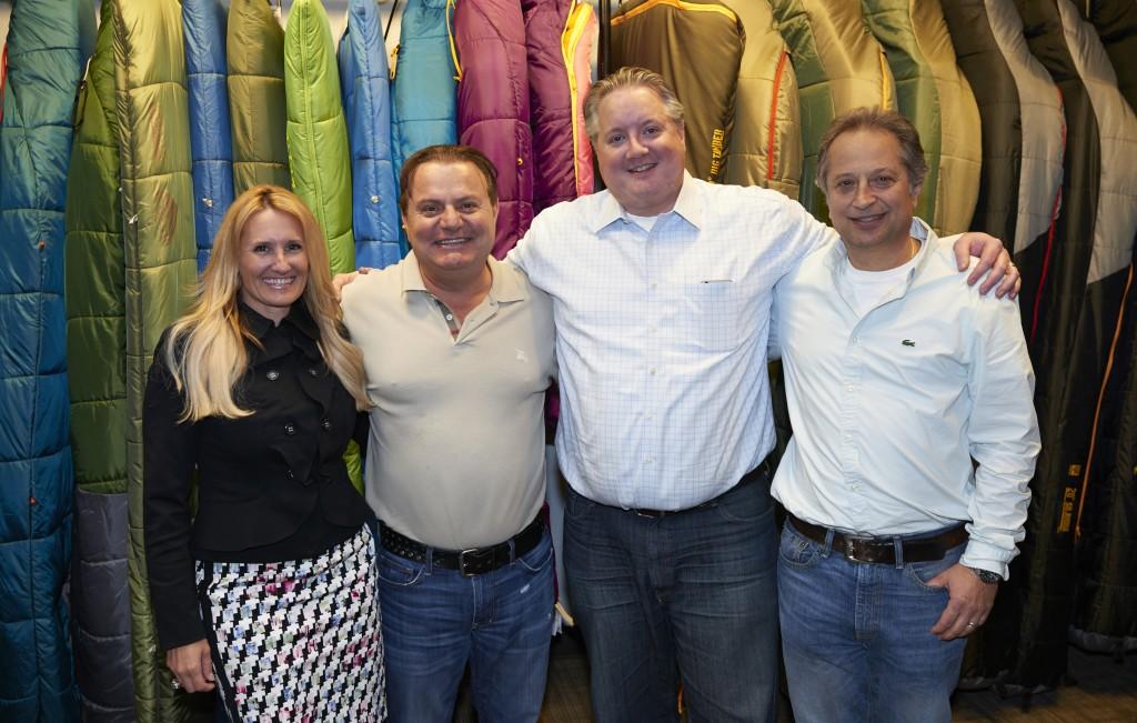 From left: Exxel Outdoors CFO Casey Hoffman, CEO Harry Kazazian, President Brett Jordan and Chairman Armen Kouleyan. Photo courtesy of Exxel.