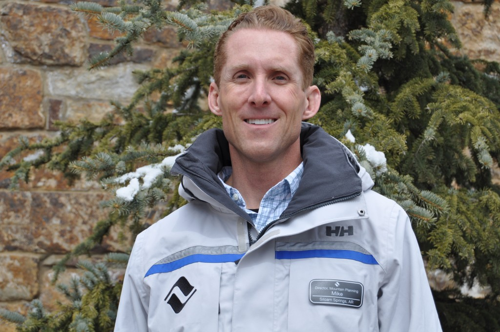 Mike Jackson is taking over planning at two Vail resorts. Photo courtesy of Vail.