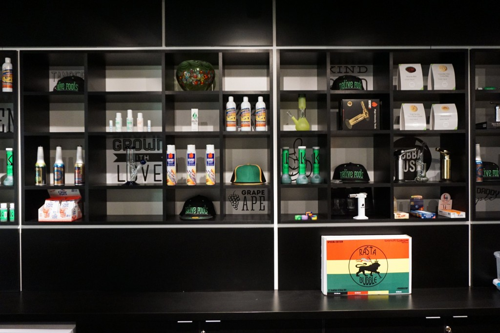 Marijuana dispensary Native Roots is multiplying. Photos by George Demopoulos.
