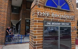 One Broadway sits near Broadway and Ellsworth next to Punch Bowl Social.
