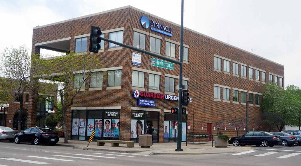 A real estate firm bought its South Broadway office building. Photos by Burl Rolett.