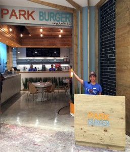 A Park Burger opened in Kuwait City last week. Photos courtesy of Park Burger.