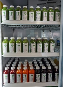 Pressed Juice Daily sells individual bottles and also offers packages based on health goals. Photo by George Demopoulos.