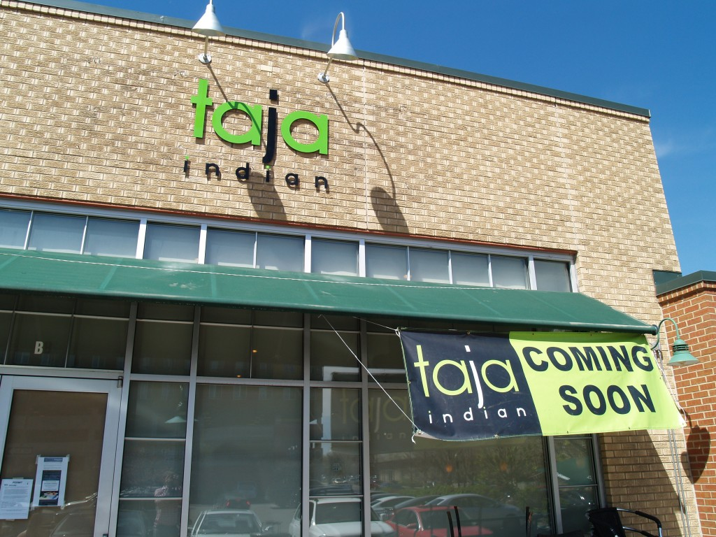 Taja Indian, formerly Bombay Bowl, is set to open this week. Photo by Aaron Kremer.