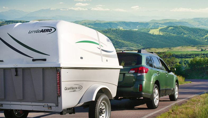 A camping and trailer gear manufacturer has struck a deal to get into more stores. Photos courtesy of Let's Go Aero.