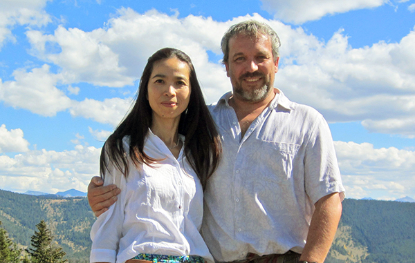 Stephanie Pham and Markus Bohunovsky are launching a new spa in Wash Park. Photos courtesy of 5 Star Salt Caves.