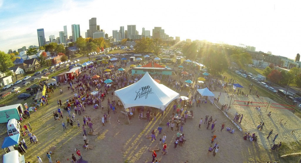 The Big Wonderful weekly festival and market will return May 2. Photos courtesy of The Big Wonderful.