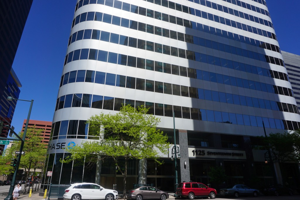 A Canadian firm is moving into a 17th Street office tower. Photo by Burl Rolett.