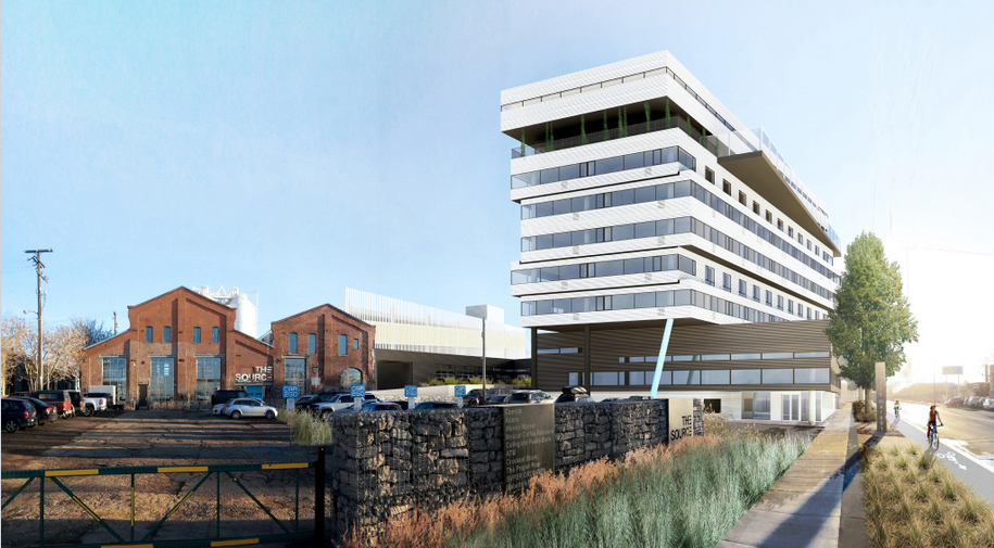 A 10-story hotel is in the works for River North. Renderings courtesy of Dynia Architects.