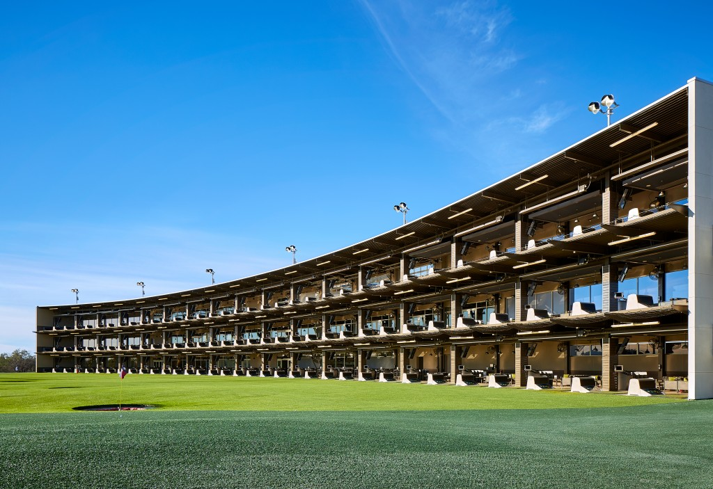 TopGolf's San Antonio facility (pictured) will be the model for its Colorado location. Photos courtesy of TopGolf.