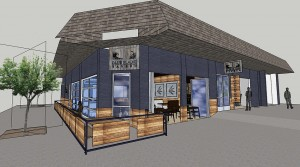 Plans had been drawn up for the building's design.