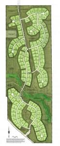 Development plans call for 121 homes.