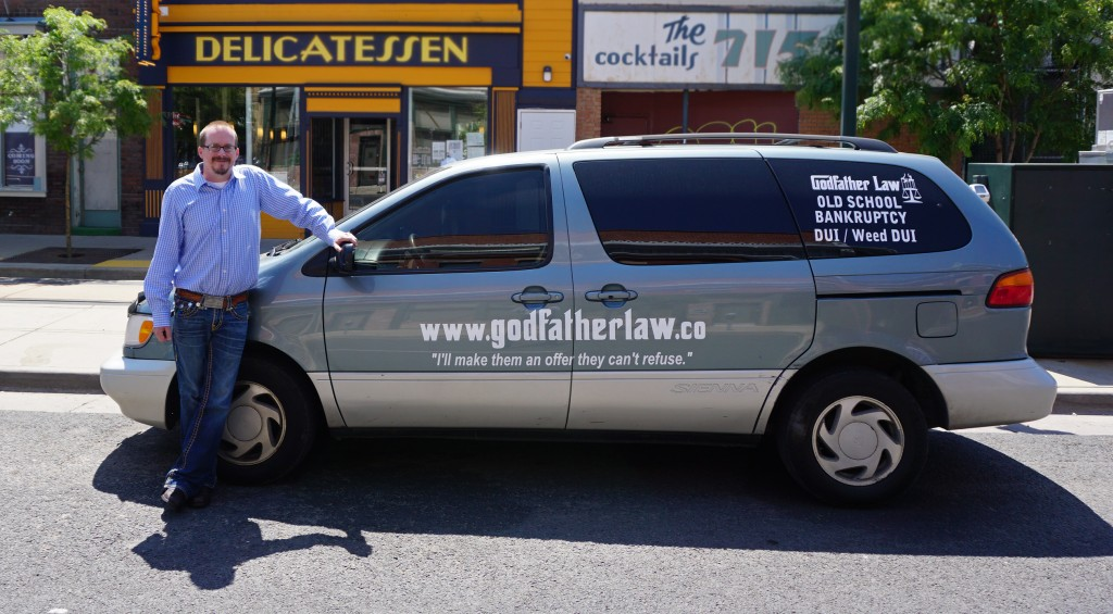 Thomas Braham rebranded his one-man law firm this year. Photos by George Demopoulos.