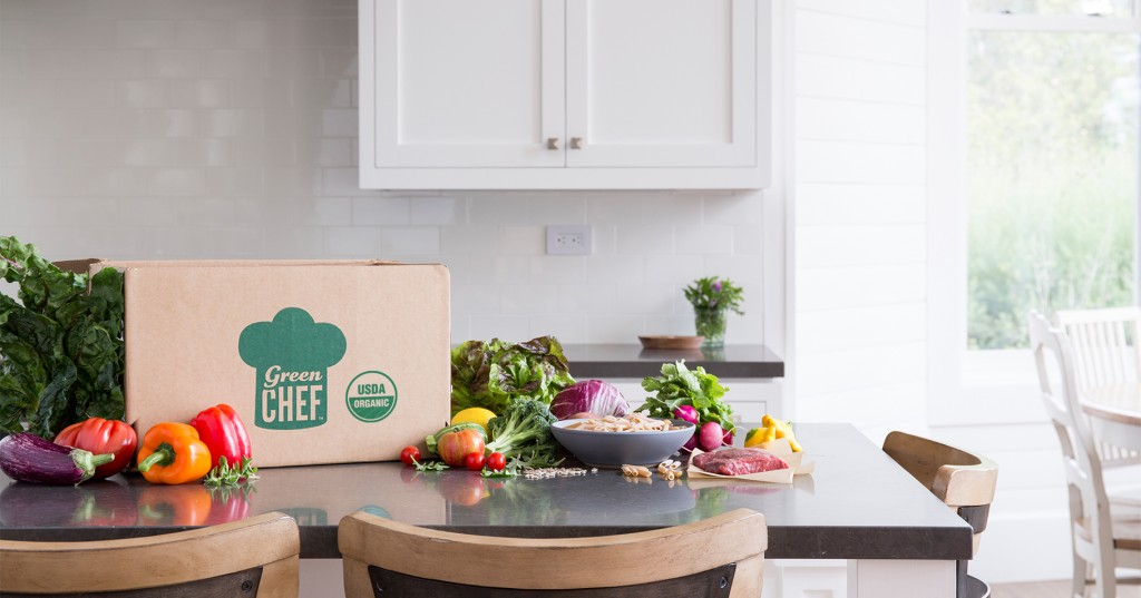 Green Chef delivers organic meals. Photos courtesy of Green Chef.