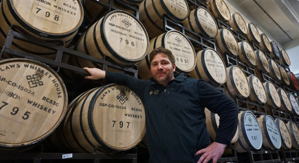 Alan Laws is spreading out his whiskey operation to a new space. Photos by George Demopoulos.
