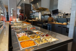 Modmarket has made-to-order salads and sandwiches, along with pizza and soup.