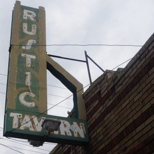 Rustic Tavern occupied the building for most of its 100-year-old history.