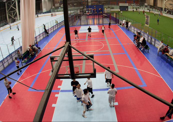 A Stapleton gym and sports facility is upping its space. Photos courtesy of Bladium.