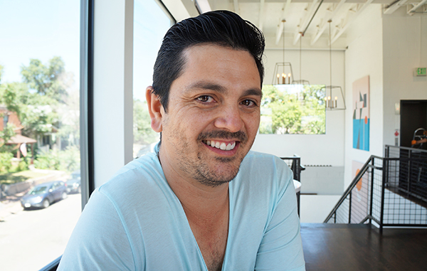 Rico Aragon is expanding his food truck venture into a full-fledged restaurant. Photo by Katherine Blunt.