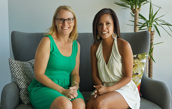 Havenly co-founders Jessie Dixon (left) and Lee Mayer. Photo by George Demopoulos.