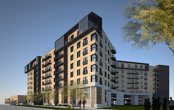 Plans are in the works for more apartments in RiNo. Rendering courtesy of Lynd Co.