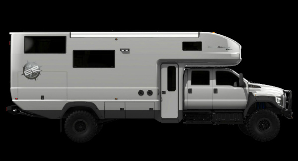 A rendering of the newest EarthRoamer model.