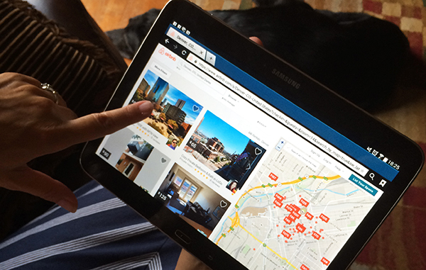 More than 4,000 properties are listed for rent on Airbnb in the Denver area. (Evelyn Rupert)
