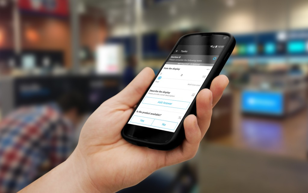 GoSpotCheck helps businesses collect and analyze data. Photo courtesy of GoSpotCheck.
