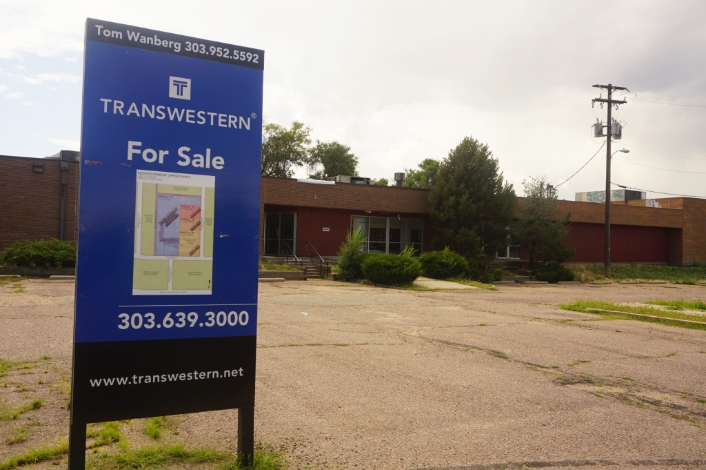 A former YMCA property was rezoned for new development. Photos by Burl Rolett.