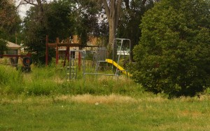 The 4.25-acre site also houses an old playground and basketball court.