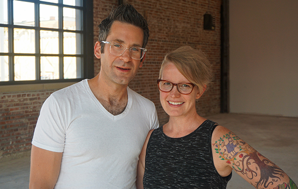 Obe and Whitney Ariss are opening a new restaurant in RiNo. Photos by Burl Rolett.